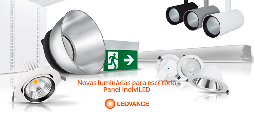 IndiviLED - Novas luminárias da LEDVANCE