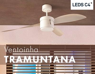 Ventoinha Tramuntana da LEDS-C4