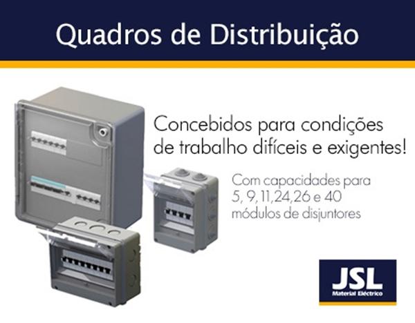 Quadros de Distribuição da JSL