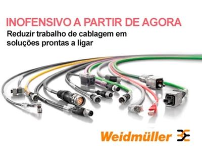 Reduzir trabalho de cablagem em soluções prontas a ligar - Weidmuller