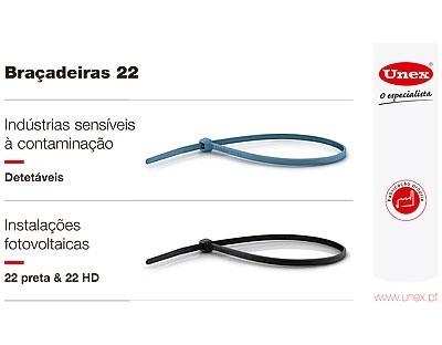 Braçadeiras UNEX 22