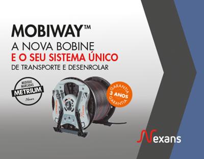 O novo kit patenteado da Nexans:  MOBIWAY™