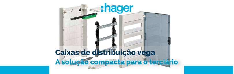 Caixas de Distribuição Vega da HAGER